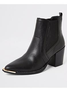 river-island-river-island-leather-chelsea-western-boot-black