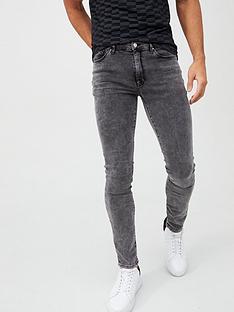 river-island-grey-danny-super-skinny-jeans