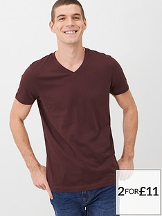 v-by-very-essentials-v-neck-t-shirt-fudge