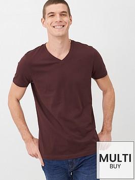 v-by-very-essentials-v-neck-t-shirt-fudge