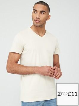 v-by-very-essentials-v-neck-t-shirt-off-white