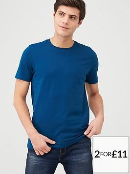 v-by-very-crew-t-shirt-deep-blue