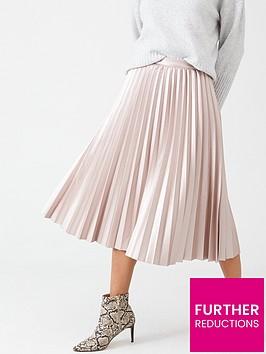oasis-pleated-metallic-midi-skirt-mid-pink