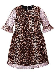 v-by-very-girls-animal-print-mesh-dress-multi