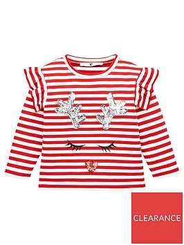 v-by-very-girls-sequin-reindeer-striped-long-sleeve-t-shirt-red