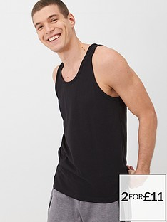 v-by-very-essentials-vest-black