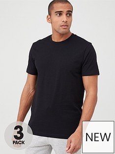 v-by-very-3-pack-crew-t-shirt-black