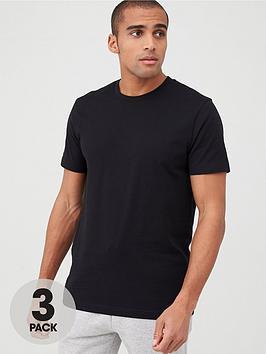 very-man-3-pack-crew-t-shirt-black