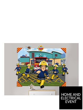 walltastic-fireman-sam-3d-pop-out-wall-mural