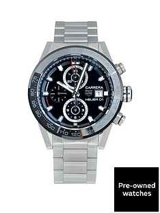 tag-heuer-tag-heuer-pre-owned-gents-carrera-heuer-01-chronograph-steel-watch-black-dial-ref-car201z