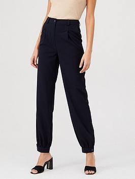 v-by-very-cuffed-tailored-trouser-navy