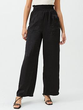 v-by-very-paperbag-satin-trousers-black