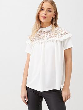 v-by-very-lace-yoke-blouse-ivory