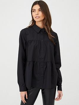 v-by-very-tiered-shirt-black