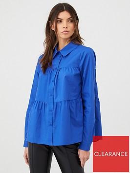 v-by-very-tiered-shirt-cobaltnbsp