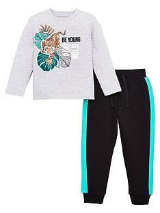 v-by-very-boys-2-piece-be-young-and-wild-t-shirt-and-joggers-set-multi