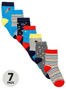 v-by-very-boys-7-pack-space-socks-multi