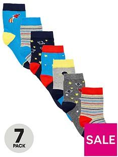 v-by-very-boys-7-pack-space-socks-multi