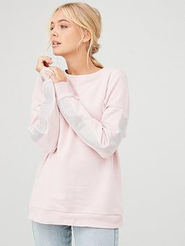 river-island-river-island-diamante-long-sleeve-sweat-light-pink