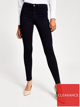 river-island-river-island-molly-mid-rise-jegging--navy