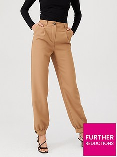 v-by-very-cuffed-tailored-trouser-camel