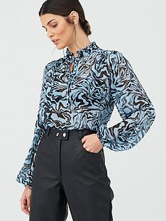 v-by-very-printed-poet-blouse