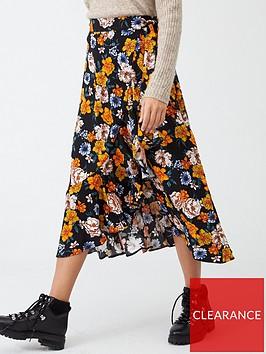 v-by-very-printed-wrap-midi-skirt-floral