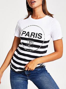 river-island-river-island-stripe-paris-print-t-shirt--white