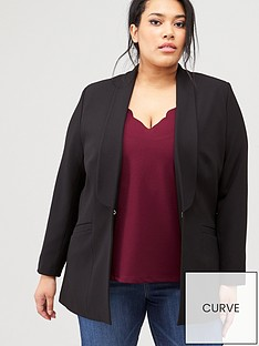 v-by-very-curve-edge-to-edge-blazer-black