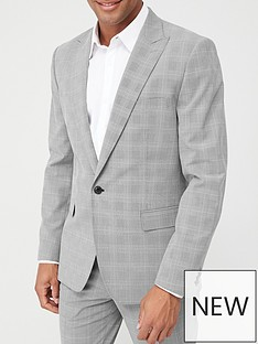 v-by-very-check-suit-jacket-grey