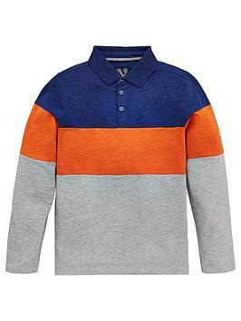 v-by-very-boys-long-sleeve-colourblock-polo-shirt-multi