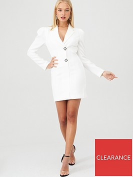 river-island-blazer-tux-dress--white