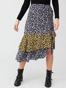 v-by-very-ruched-side-midi-skirt-floral