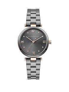 amanda-walker-amanda-walker-eva-grey-sunray-and-rose-gold-detail-dial-gunmetal-grey-stainless-steel-bracelet-ladies-watch