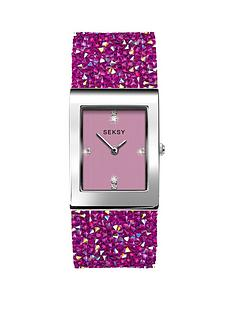 seksy-rocks-pink-tank-dial-pink-rocks-strap-ladies-watch