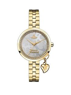vivienne-westwood-vivienne-westwood-bow-silver-dial-with-gold-orb-charm-gold-stainless-steel-bracelet-watch