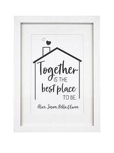 signature-gifts-personalised-best-place-to-be-a4-framed-print