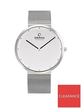 obaku-obaku-papir-silver-ultra-slim-dial-stainless-steel-mesh-strap-mens-watch