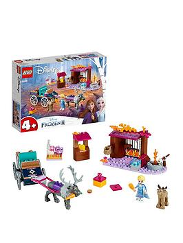 Lego Disney 41166 Elsa'S Wagon Adventure With 2 Reindeers