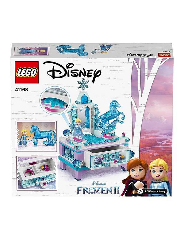 Elsa Frozen Peppa Jewellery Box Princess Gift Toy Children Necklace Earring