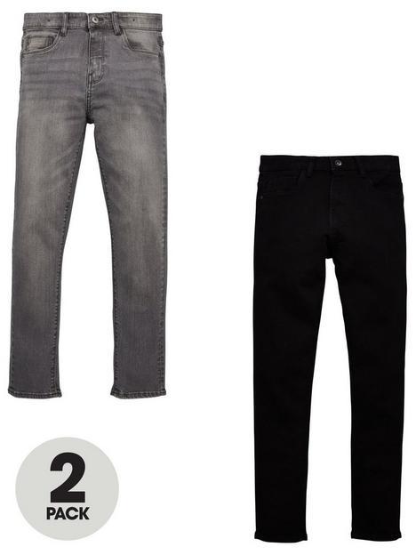 v-by-very-boys-2-pack-skinny-jeans-blackgrey