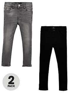 v-by-very-boys-2-pack-skinny-jeans-blackgrey