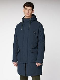 ben-sherman-fishtail-parka-midnight-blue