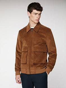 ben-sherman-cord-jacket-tan