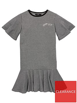 v-by-very-girls-jersey-houndstooth-peplum-dress-black