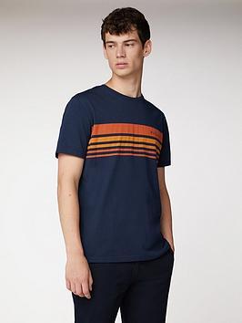 ben-sherman-tipped-chest-print-t-shirt-navy