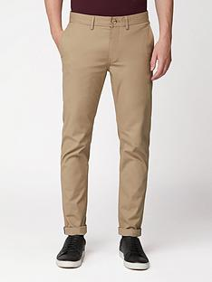 ben-sherman-slim-stretch-chinos-stone