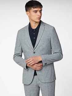 ben-sherman-broken-check-suit-jacket-light-grey