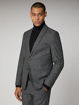 ben-sherman-unstructured-camden-suit-jacket-charcoal-speckle