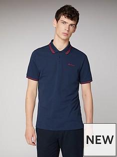 ben-sherman-classic-tipped-polo-shirt-dark-navy